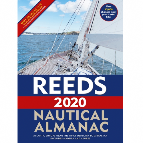 Reeds Nautical Almanac 2020 with Free Marina Guide